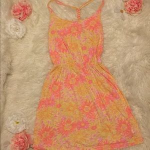 Lilly Pulitzer Pink And Yellow Flower Dress